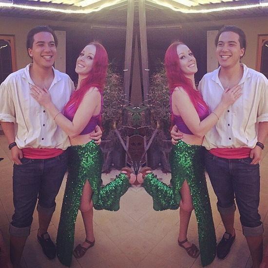 8. Ariel Halloween-asut aikuinen