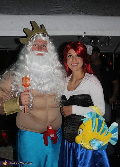 9. Ariel Halloween-asut aikuinen