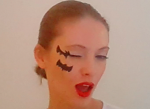Макияж Летучей мыши на Хэллоуин