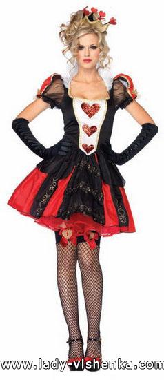 17. Herttakuningatar Halloween puku