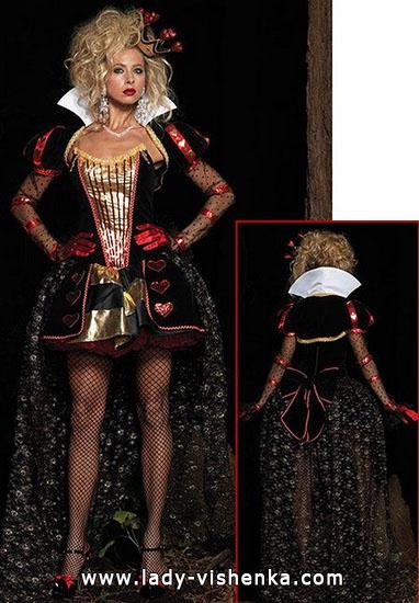 22. Herttakuningatar Halloween puku
