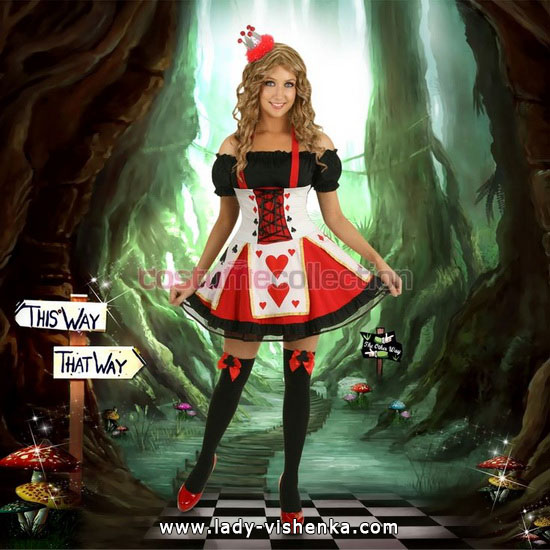 26. Herttakuningatar Halloween puku