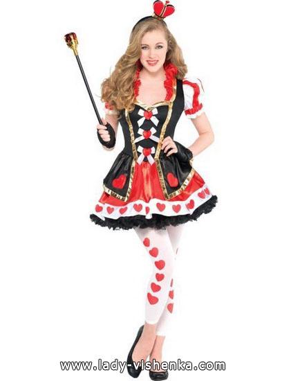 36. Herttakuningatar Halloween puku