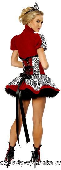 5. Herttakuningatar Halloween puku