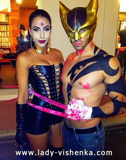 7. Parien seksikkäät Halloween-asut