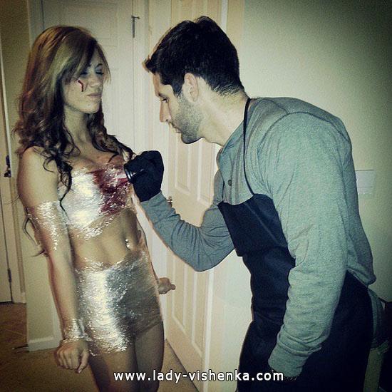 8. Parien seksikkäät Halloween-asut