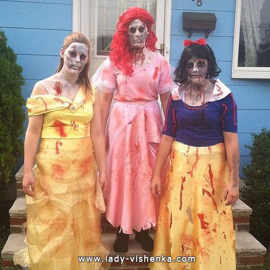 28. Lumikki-asuja Halloweeniksi