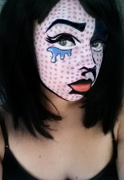 10. Pelottava Halloween-meikki