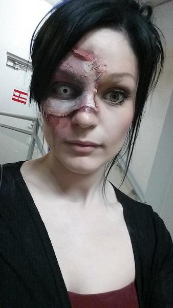 11. Pelottava Halloween-meikki