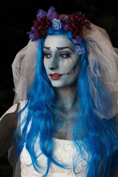 12. Pelottava Halloween-meikki