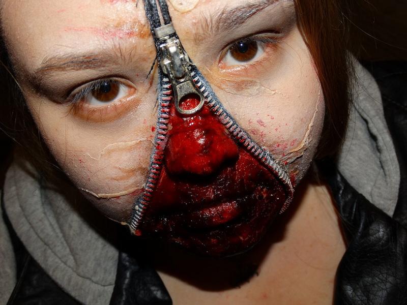 55. Pelottava Halloween-meikki