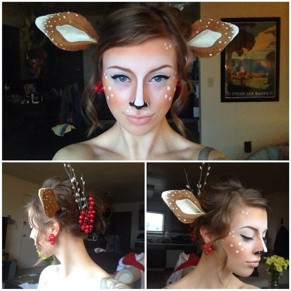 17. Pelottava Halloween-meikki