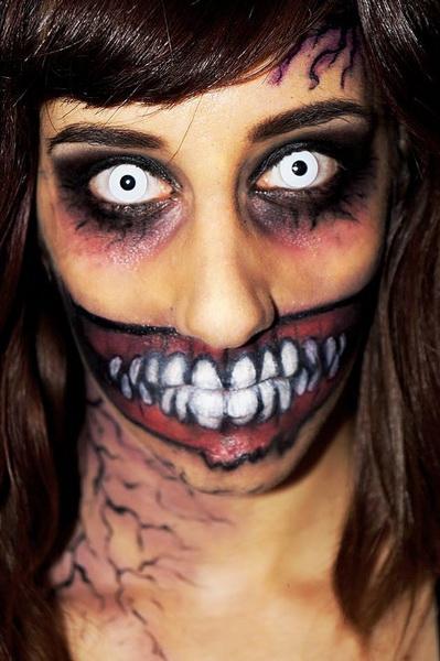 20. Pelottava Halloween-meikki