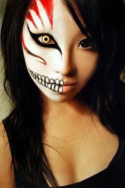 21. Pelottava Halloween-meikki