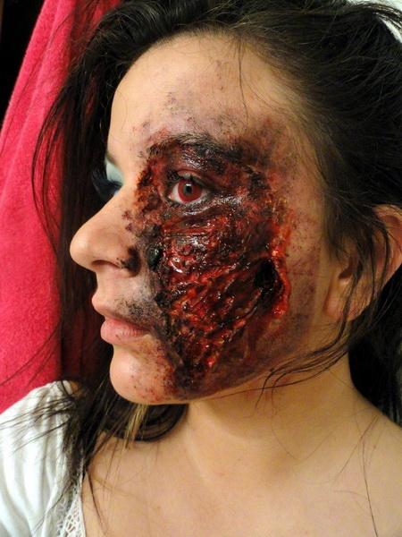 22. Pelottava Halloween-meikki