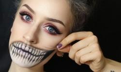 23. Pelottava Halloween-meikki
