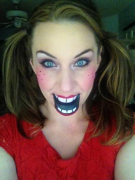 26. Pelottava Halloween-meikki