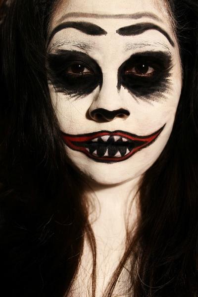 29. Pelottava Halloween-meikki