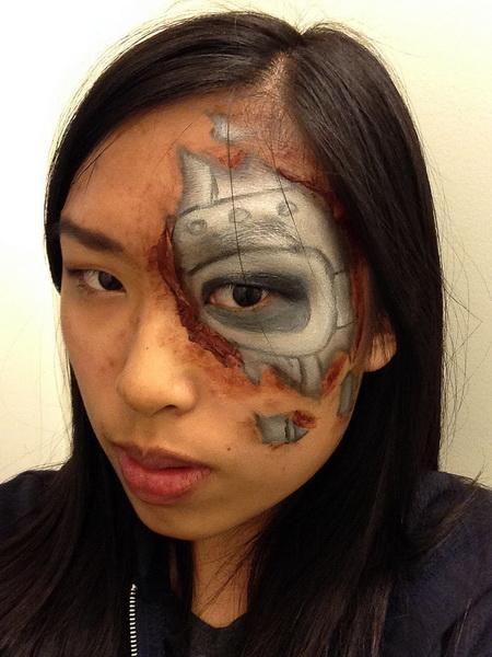 30. Pelottava Halloween-meikki