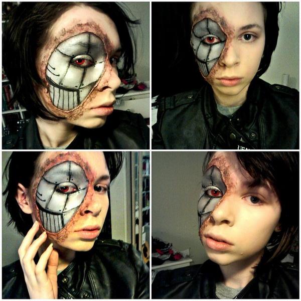 31. Pelottava Halloween-meikki