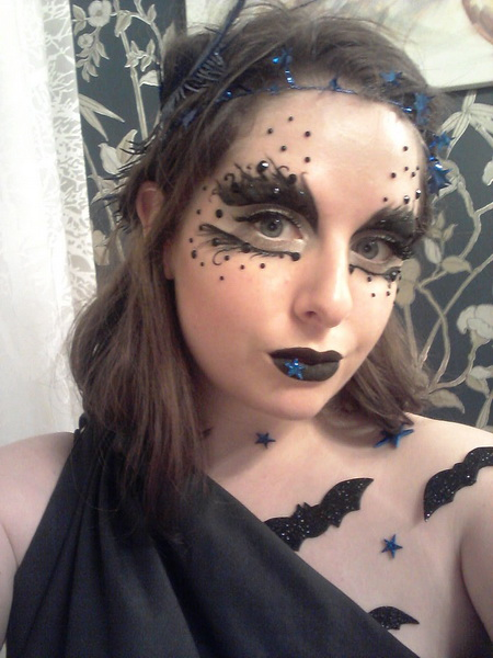 34. Pelottava Halloween-meikki