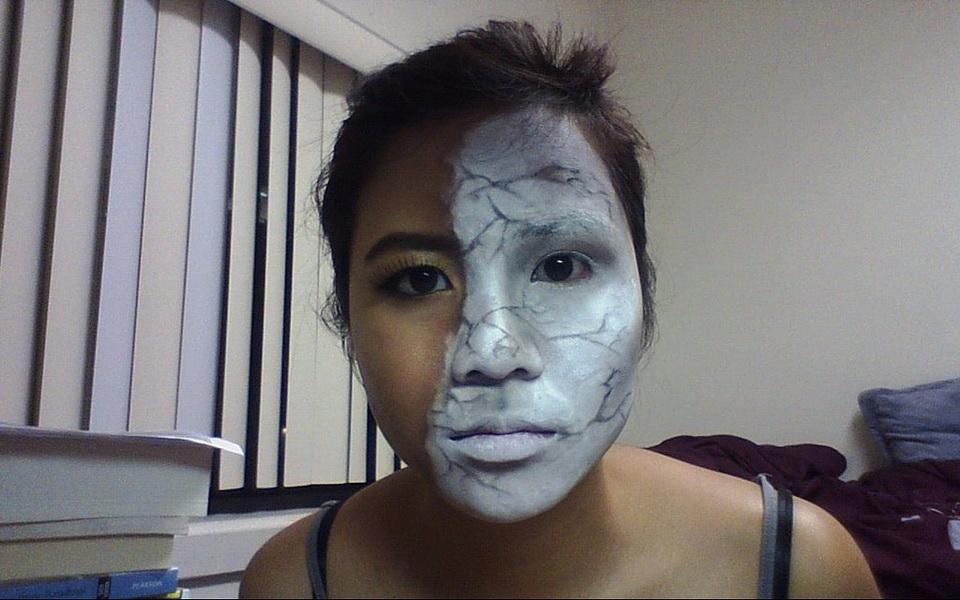 42. Pelottava Halloween-meikki
