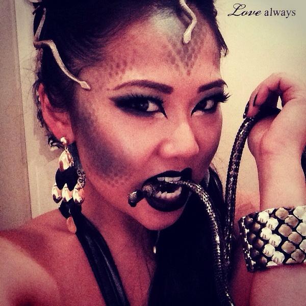 43. Pelottava Halloween-meikki