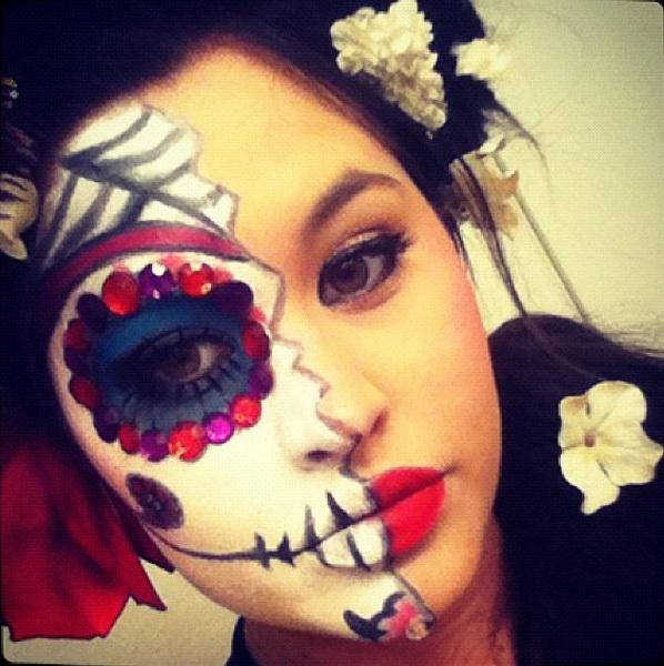 44. Pelottava Halloween-meikki