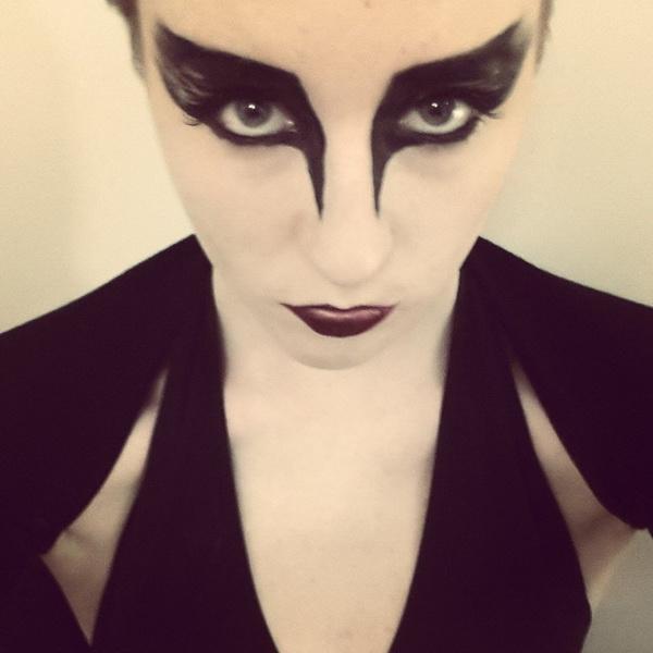 46. Pelottava Halloween-meikki