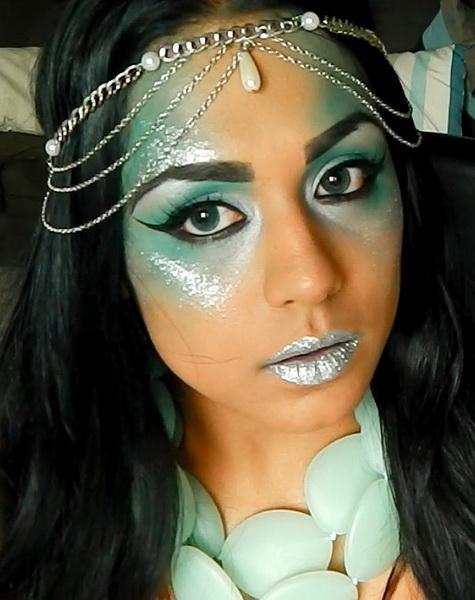 47. Pelottava Halloween-meikki