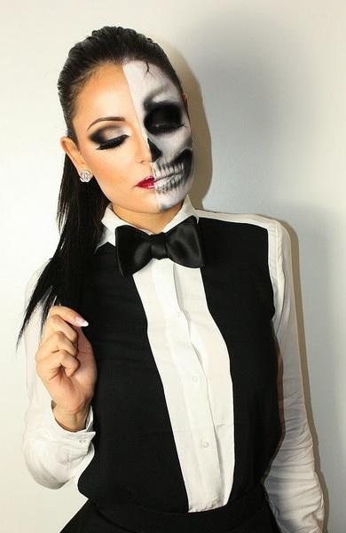 50. Pelottava Halloween-meikki