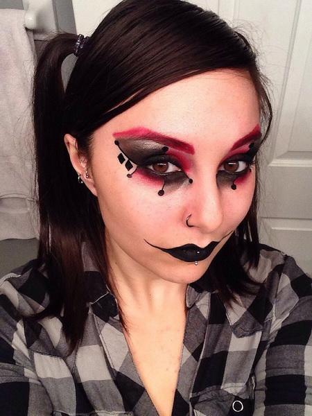 51. Pelottava Halloween-meikki