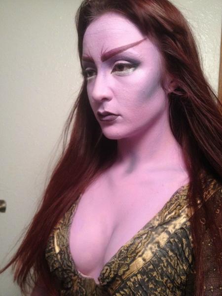 52. Pelottava Halloween-meikki