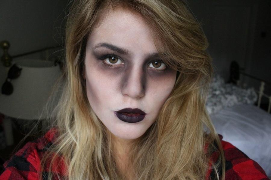 53. Pelottava Halloween-meikki