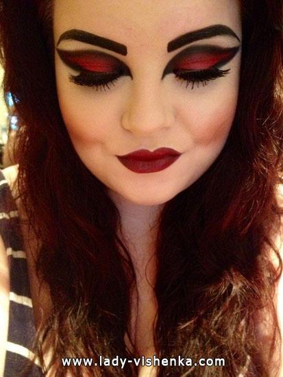 1. Vampire Halloween puku aikuinen
